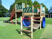 Our High Climbing Frame