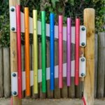 Chime Bars in Sensory Garden